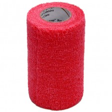 3M VETRAP BANDAGE 100 ROLL BULK PACK, RED