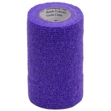 3M VETRAP BANDAGE, SINGLE ROLL, PURPLE