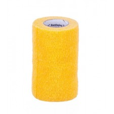 3M VETRAP BANDAGE, SINGLE ROLL, GOLD