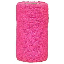 3M VETRAP BANDAGE, SINGLE ROLL, HOT PINK