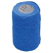 3M VETRAP BANDAGE, SINGLE ROLL, BLUE