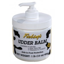 FIEBING'S UDDER BALM 454 G JAR WITH PUMP