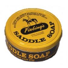 FIEBING'S SADDLE SOAP - 100 G TIN, WHITE