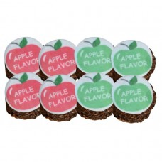 STUD MUFFINS WITH APPLE FLAVOUR ICING, 8-PACK, 8 OZ