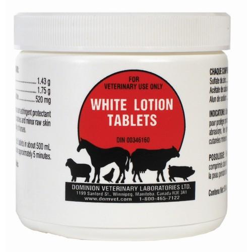 PHARM-VET WHITE LOTION TABLETS - 50 TABLETS