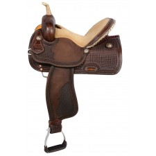 WESTERN RAWHIDE SIGNATURE NEVADA PRO RACER SADDLE