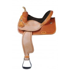 MAVERICK GOLDEN BASKET PRO RACER SADDLE