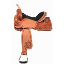 WESTERN RAWHIDE SIGNATURE DEE BUTTERFIELD PRO BARREL SADDLE