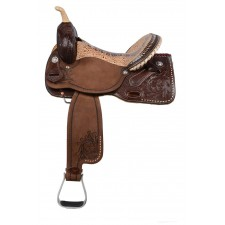 WESTERN RAWHIDE SIGNATURE DEE BUTTERFIELD CHAMPION PRO BARREL SADDLE