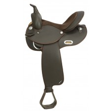 WINTEC BARREL SADDLE - SEMI QUARTER HORSE BARS
