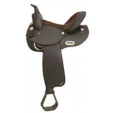 WINTEC BARREL SADDLE - FULL QUARTER HORSE BARS