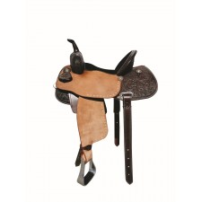 WESTERN RAWHIDE by JIM TAYLOR PRO ELITE BARREL RACER SADDLE