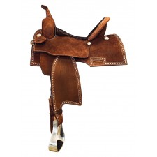 WESTERN RAWHIDE SIGNATURE ROUGH OUT GUNNER SADDLE