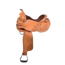 COUNTRY LEGEND HOPPER TRAIL TOOLED SADDLE
