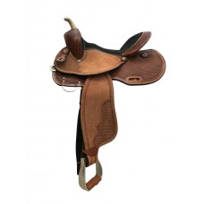 COUNTRY LEGEND FULL BASKET BARREL RACER SADDLE