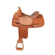 TEXAS PRO CALF ROPER SADDLE