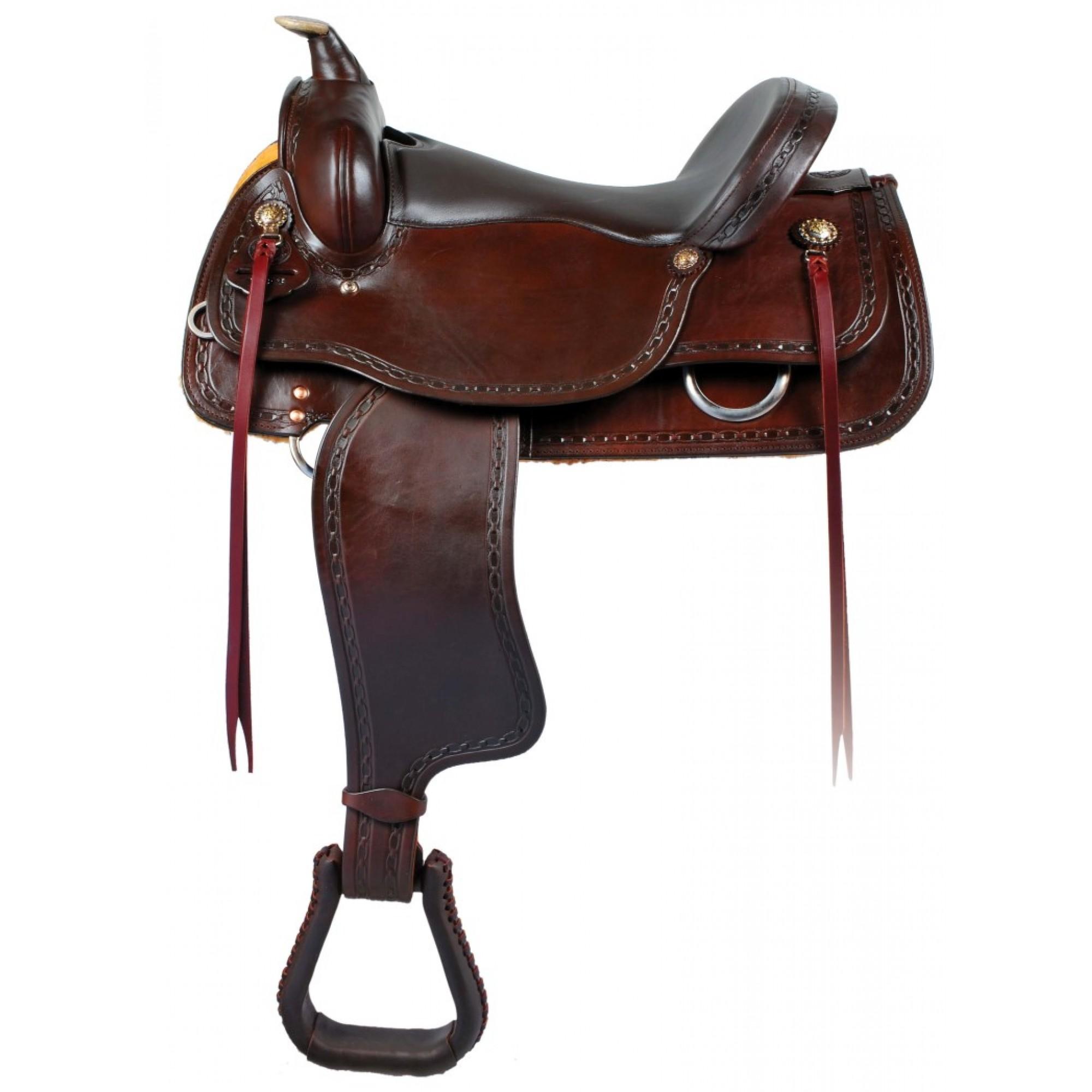 Western Rawhide Signature Big Boy Draft Saddle