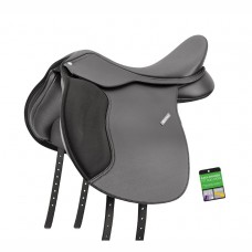 WINTEC 500 WIDE ALL PURPOSE ENGLISH SADDLE - FLOCK