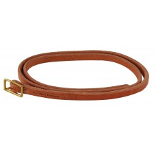 HARNESS LEATHER THROAT STRAP - 1/2 INCH X 42 INCH