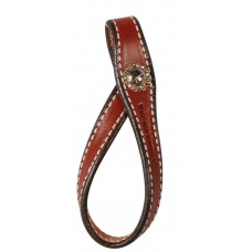 TIE DOWN HOLDER WITH CONCHOS