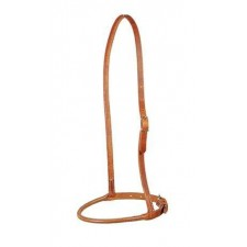 HARNESS LEATHER ROUNDED NOSEBAND