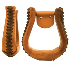 "VISALIA  STIRRUP- 3"" NECK, LEATHER"