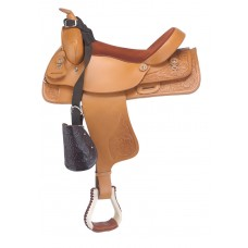 NYLON SADDLE BUDDY FOR KIDS - WITH LEATHER HOODS & STIRRUPS