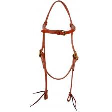 Western Rawhide Short Cheek Browband Headstall