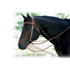 WESTERN RAWHIDE HARNESS LEATHER GERMAN MARTINGALE