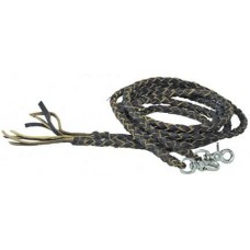ECONOMY BRAIDED LEATHER REINS