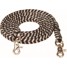 "MUSTANG 3/4"" X 8' BRAIDED CONTEST REINS"