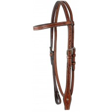 COUNTRY LEGEND BARB WIRE BROWBAND HEADSTALL