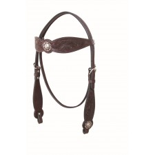 COUNTRY LEGEND ANTIQUE FLORAL & BASKET BROWBAND HEADSTALL