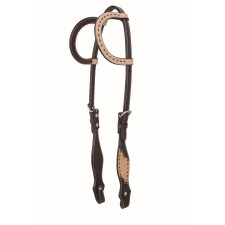 COUNTRY LEGEND ROUGH OUT & BUCKSTITCH ONE EAR HEADSTALL