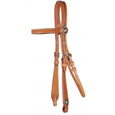 COUNTRY LEGEND BASKETWEAVE BROWBAND HEADSTALL