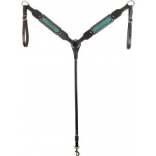 COUNTRY LEGEND TURQUOISE GATORBREASTCOLLAR