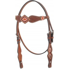 COUNTRY LEGEND BEADS BROWBAND HEADSTALL