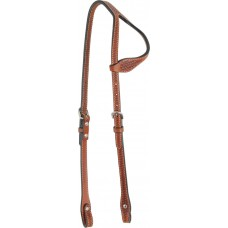 COUNTRY LEGEND ONE EAR HEADSTALL WITH BASKET TOOLING