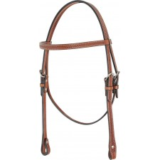 COUNTRY LEGEND BROWBAND HEADSTALL WITH BASKET TOOLING