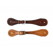 COUNTRY LEGEND STRAIGHT SPUR STRAP WITH BORDER
