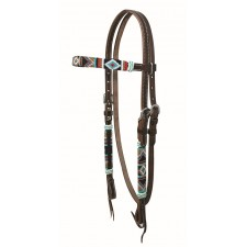 COUNTRY LEGEND CHEROKEE BEAD BROWBAND HEADSTALL