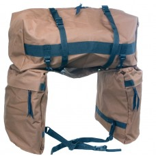 SADDLE BAG WITH DETACHABLE CANTLE BAG