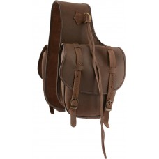 COUNTRY LEGEND SOFT SADDLE BAG, LEATHER