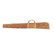 TWO-TONE RIFLE CASE WITH CARVING