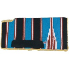 COUNTRY LEGEND NAVAJO FELT LINED WOOL PAD WITH WITHER CUTOUT