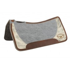 "1/2"" SYNTHETIC FELT/WOOL SADDLE PAD"