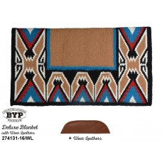 COUNTRY LEGEND TEEPEE DELUXE SHOW BLANKET WITH WEAR LEATHERS