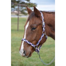 COUNTRY LEGEND NUBUCK PADDED HALTER