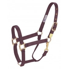 HAMILTON 1 INCH DELUXE HALTER WITH SNAP AT THROAT