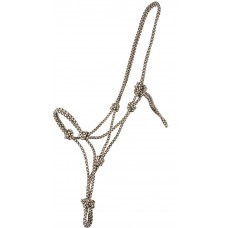 FASHION CHECK WEBBED ROPE HALTER